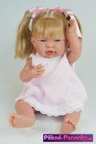 Česací panenka D´nenes Mio-Mio blond 43 cm