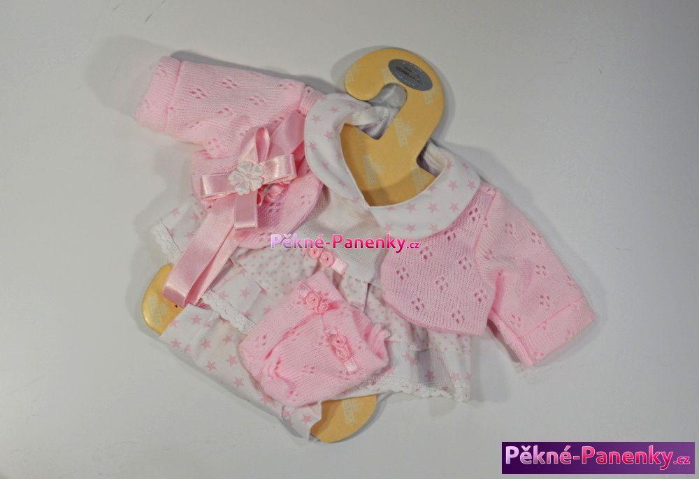 originalní španělské panenky pro děti levné oblečky, kvalitní oblečení pro panenky, háčkované šatičky pro panenku, pletené oblečky na oblékání, hračky pro holčičky Berbesa mluvící panenky ze Španělska pro děti