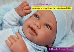 Realistické miminko chlapeček Antonio Juan® Pipo 42 cm