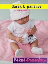 AKCE Realistické miminko Berenguer® holčička s výbavičkou 39cm