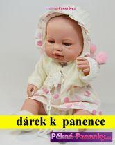 AKCE Realistická panenka Berbesa® Angeles v šatičkách 42 cm