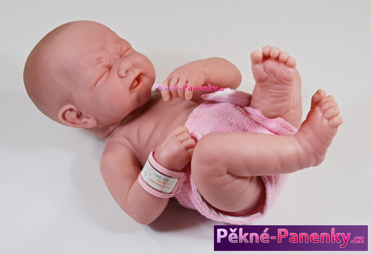 Realistická koupací panenka