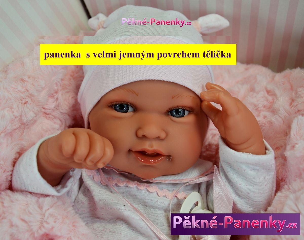 originalní španělské panenky pro děti realistická, reborn panenka miminko Antonio Juan mluvící panenky ze Španělska pro děti