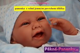 Realistické miminko chlapeček Antonio Juan® Carlo 42 cm