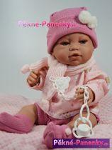 Realistická panenka Berbesa® Angeles s polštářem 42 cm