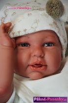 Reborn realistická panenka Antonio Juan® Daniela Oro 52 cm