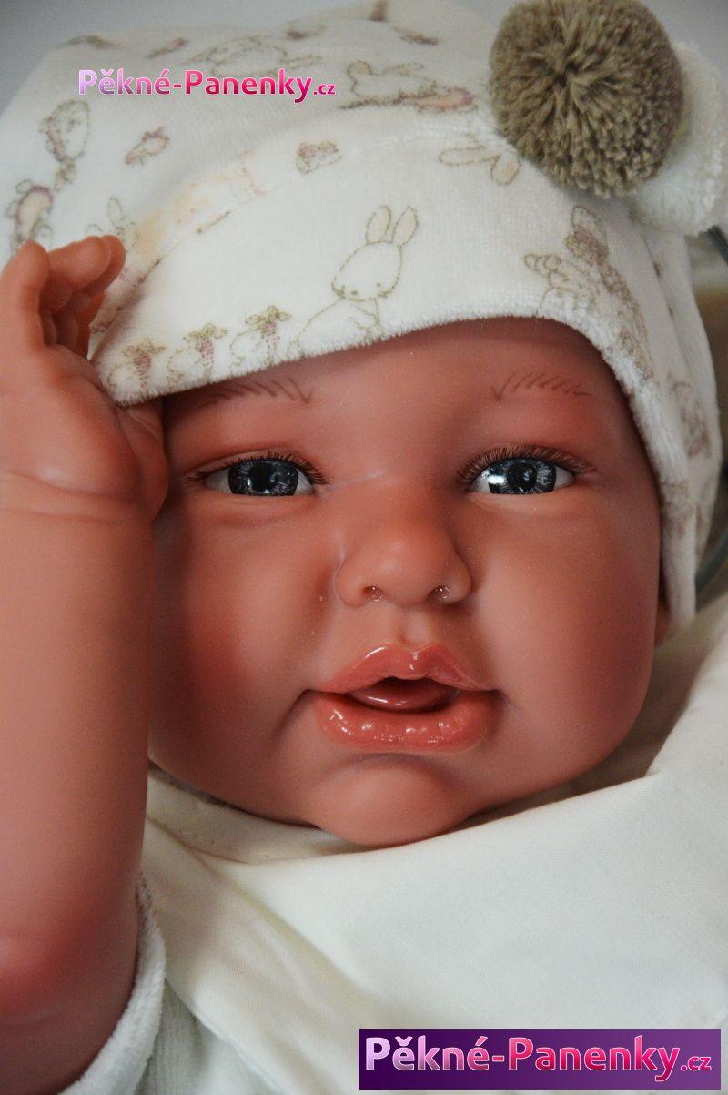 originalní španělské panenky pro děti realistické panenky reborn miminka Antonio Juan, panenky jako živé miminko mluvící panenky ze Španělska pro děti