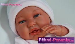 Reborn realistická panenka Antonio Juan® Daniela Pingüi 52 cm