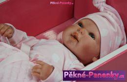 originalní španělské panenky pro děti sběratelská reborn realistické miminko v limitované edici Arias mluvící panenky ze Španělska pro děti