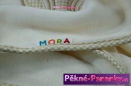 originalní španělské panenky pro děti španělská deka do kočárku, deka mikroplyš MORA mluvící panenky ze Španělska pro děti