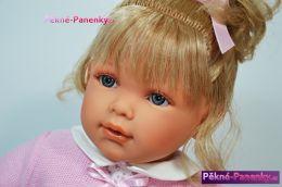 Velká realistická panenka s vlasy Antonio Juan® Lula 55 cm