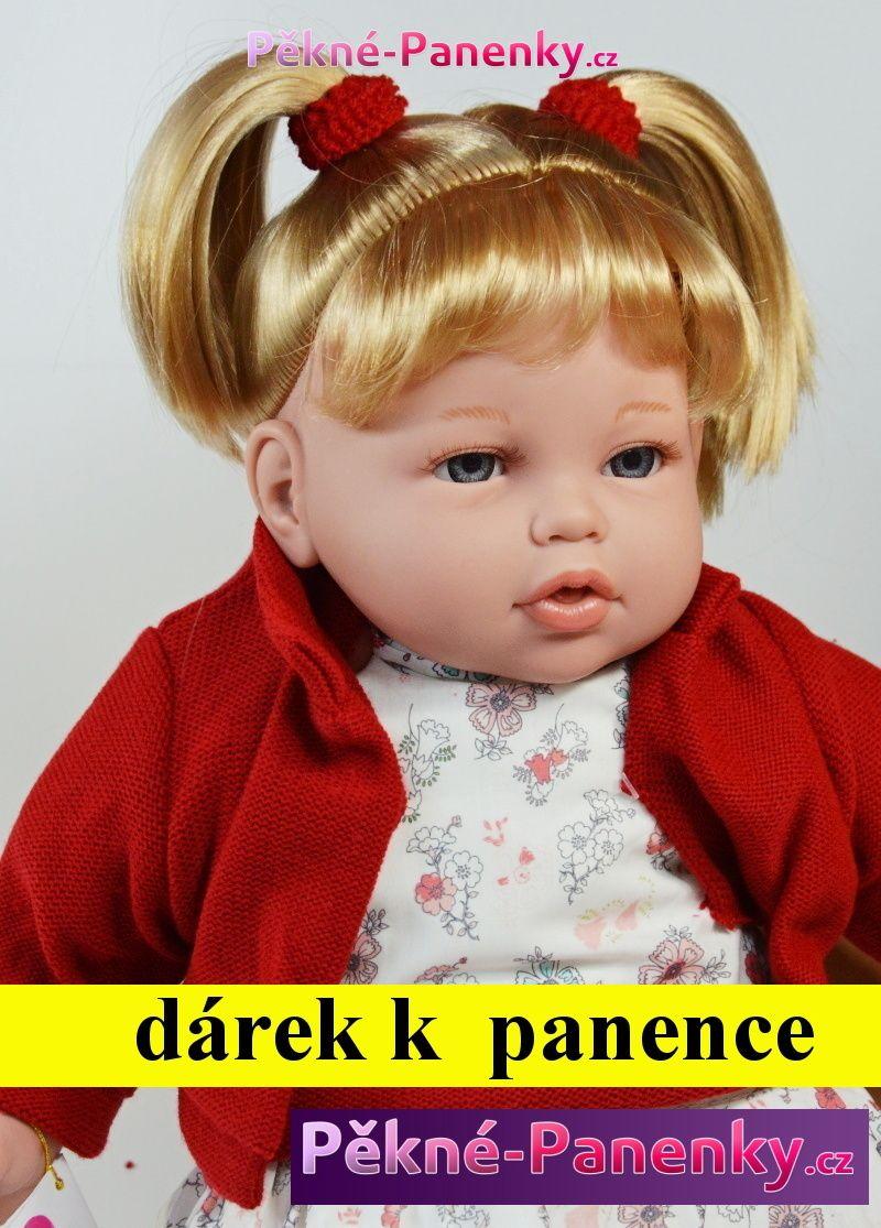 Arias velká, realistická, mluvící, česací panenka, která vypadá jako živá, kvalitní španělské panenky
