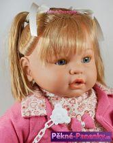 Velká panenka s dlouhými vlasy Berbesa® Dulzona 62 cm