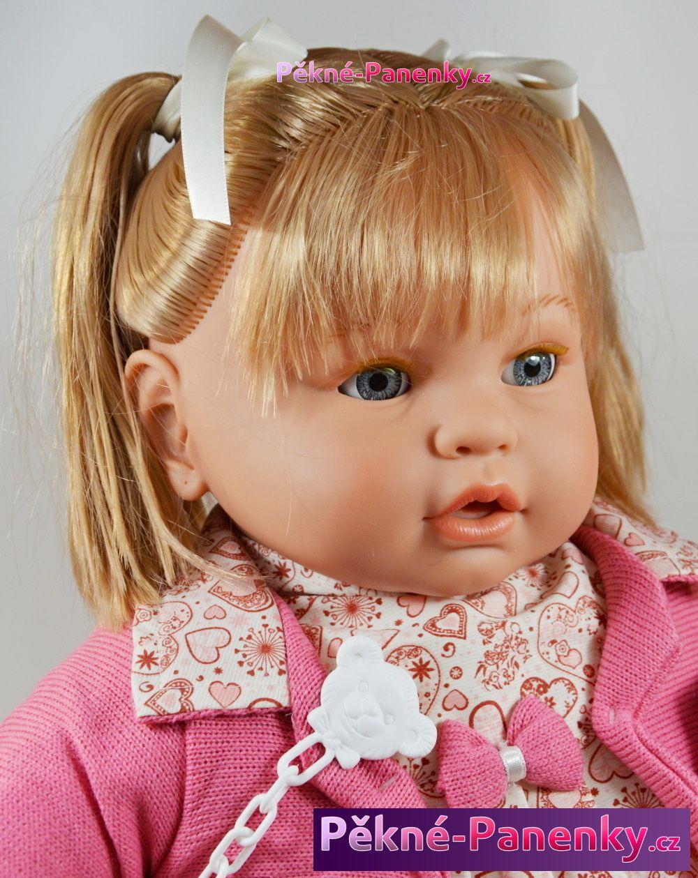 originalní španělské panenky pro děti velká vlasatá a plačící panenka s mrkacíma očima Berbesa mluvící panenky ze Španělska pro děti