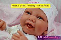 Poškozená krabice -  Realistické miminko Antonio Juan® Carla 42 cm