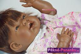 originalní španělské panenky pro děti černošská realistická panenka s česacími vlásky Dnenes mluvící panenky ze Španělska pro děti