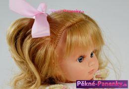 originalní španělské panenky pro děti kvalitní realistická panenka s dlouhými česacími vlasy, která vypadá jako živá holčička Berbesa mluvící panenky ze Španělska pro děti