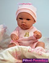 Realistická panenka miminko Arias® Natal se zavinovačkou 33 cm