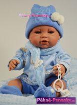 Panenka kluk s pindíkem Berbesa® Angeles 42 cm