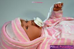 originalní španělské panenky pro děti realistická mluvící a mrkací panenka s vlásky, spící panenka, látková panenka, panenka - miminko s funkcemi Berbesa mluvící panenky ze Španělska pro děti