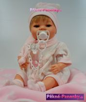 Mluvící realistická panenka s dudlíkem Berbesa® Raula 42cm
