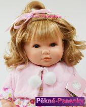 Realistická panenka s dlouhými vlasy Berbesa® Sandra 42cm