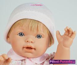 realistické miminko D´nenes Nilo 43 cm