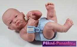 Realistická panenka chlapeček s pindíkem Berenguer® 36 cm