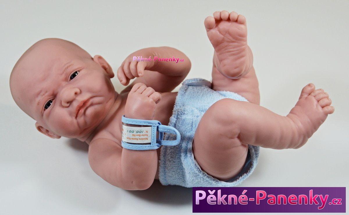 originalní španělské panenky pro děti realistická panenka novorozenec kluk, panenka pro chlapce, panenka chlapeček Berenguer mluvící panenky ze Španělska pro děti