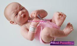 Realistická panenka novorozenec Berenguer® holčička 36cm