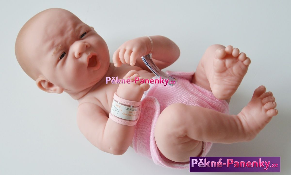 Realistická panenka novorozenec