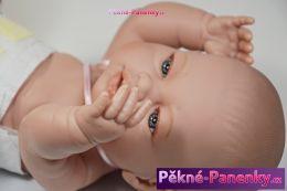 originalní španělské panenky pro děti realistická panenka novorozenec s dudlíkem, panenky miminka, živé miminka Berbesa mluvící panenky ze Španělska pro děti
