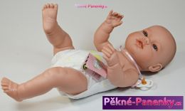 Panenka novorozenec s dudlíkem Berbesa® Angeles 42 cm