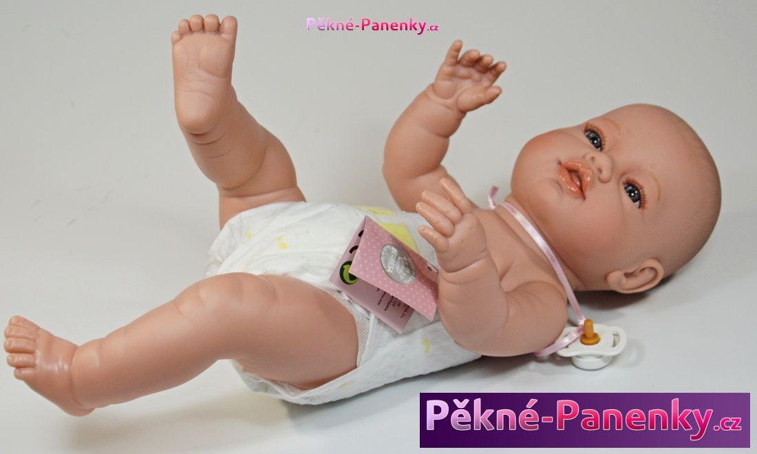 panenka novorozenec s dudlíkem