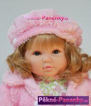 Realistická vinylová panenka Berbesa Sandra 42cm