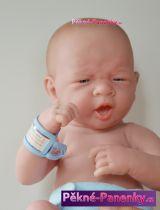originalní španělské panenky pro děti realistická panenkamiminko chlapec, panenka kluk s pindíkem Berenguer mluvící panenky ze Španělska pro děti