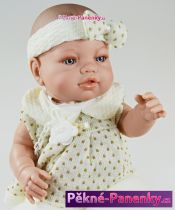 Realistická panenka miminko Berbesa® Angeles se zavinovačkou 42 cm
