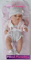 originalní španělské panenky pro děti Panenka miminko jako živé, vinyové panenky, panenka novorozenec Berbesa mluvící panenky ze Španělska pro děti
