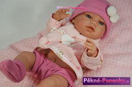 originalní španělské panenky pro děti realistické miminko, panenka s dudlíkem, nejkrásnější panenky, krásné panenky Berbesa mluvící panenky ze Španělska pro děti