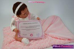 originalní španělské panenky pro děti reborn miminka, miminka jako živá reborn, panenka reborn, reborn panenky Berbesa mluvící panenky ze Španělska pro děti