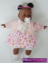 originalní španělské panenky pro děti španělská panenka černoušek, černá panenka, černošská panenka Berbesa mluvící panenky ze Španělska pro děti