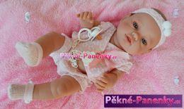 originalní španělské panenky pro děti panenka jako živé miminko, realistické miminko, španělské panenky Berbesa mluvící panenky ze Španělska pro děti