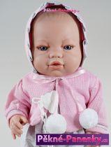 Realistická živá panenka miminko Berbesa® Angeles 42 cm