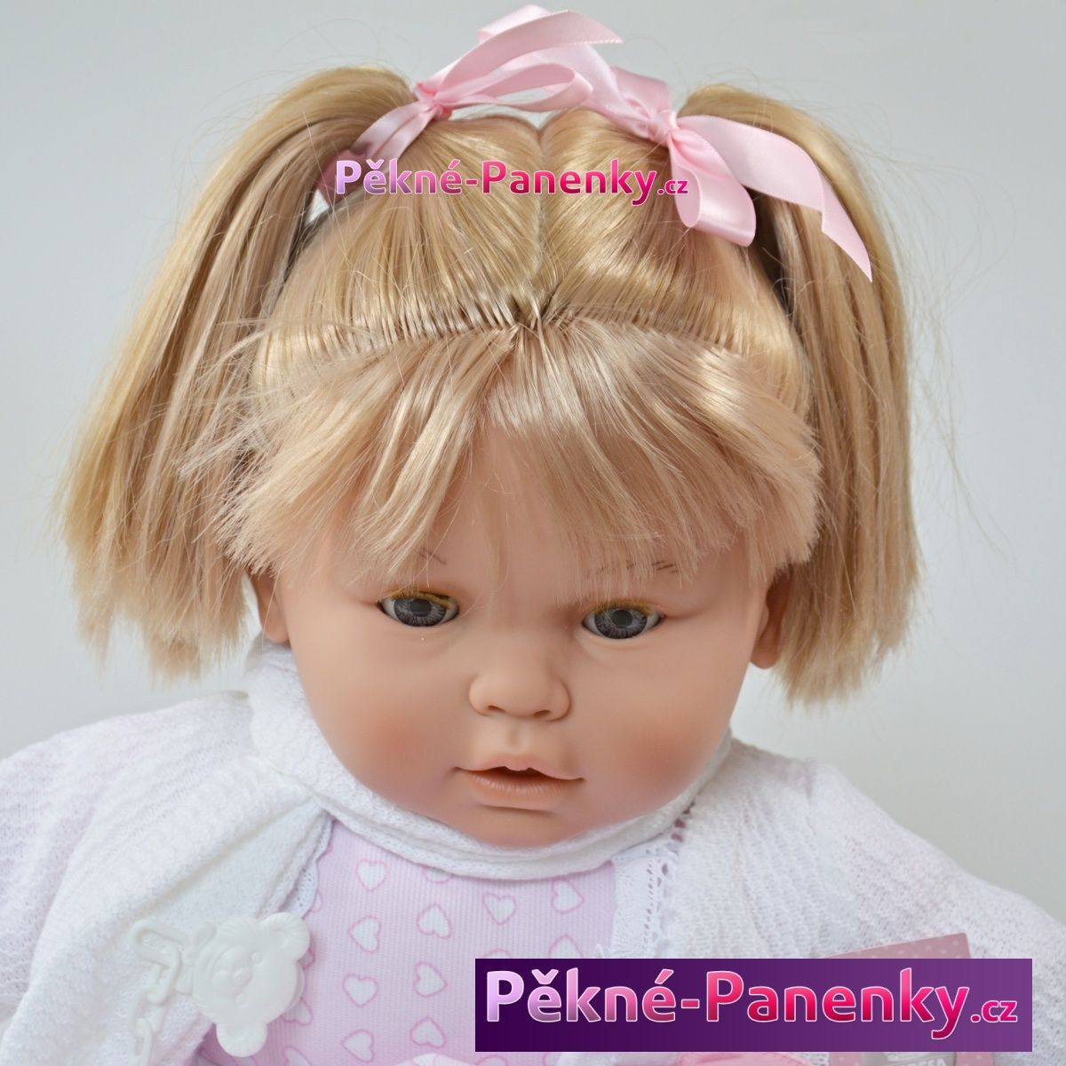 originalní španělské panenky pro děti velká realistická, mrkací a mluvící panenka jako živá, panenka miminko 60 cm Berbesa mluvící panenky ze Španělska pro děti