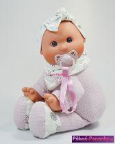 látková panenka miminko šklebík