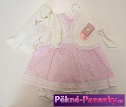 levné oblečky, kvalitní oblečení pro panenky, háčkované šatičky pro panenku, pletené oblečky na oblékání, hračky pro holčičky