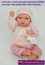 Reálné miminko Arias® Andie s polštářkem 40 cm