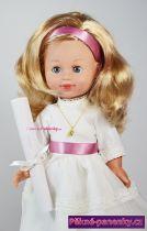 originalní španělské panenky pro děti mrkací panenka jako dárek ke křtinám, prvnímu svatému přijímání, biřmování, svatební panenka Arias mluvící panenky ze Španělska pro děti