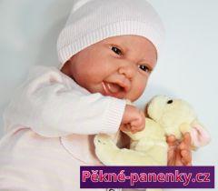 Reborn reálná panenka miminko Antonio Juan® Candy 42 cm