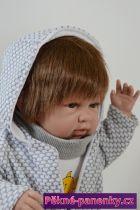 originalní španělské panenky pro děti panenka miminko kluk s vlasy, panenka chlapec, panenka miminko pro kluky Berbesa mluvící panenky ze Španělska pro děti